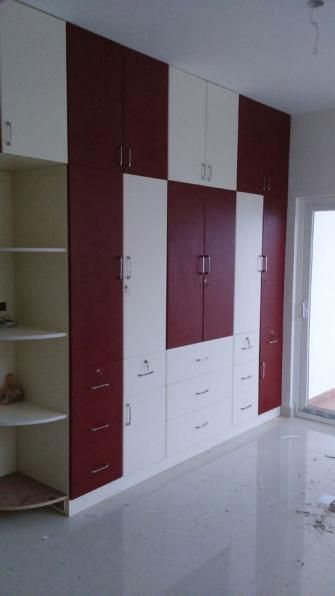 Design For Cabinet For Room: Flat Promoters, Builders