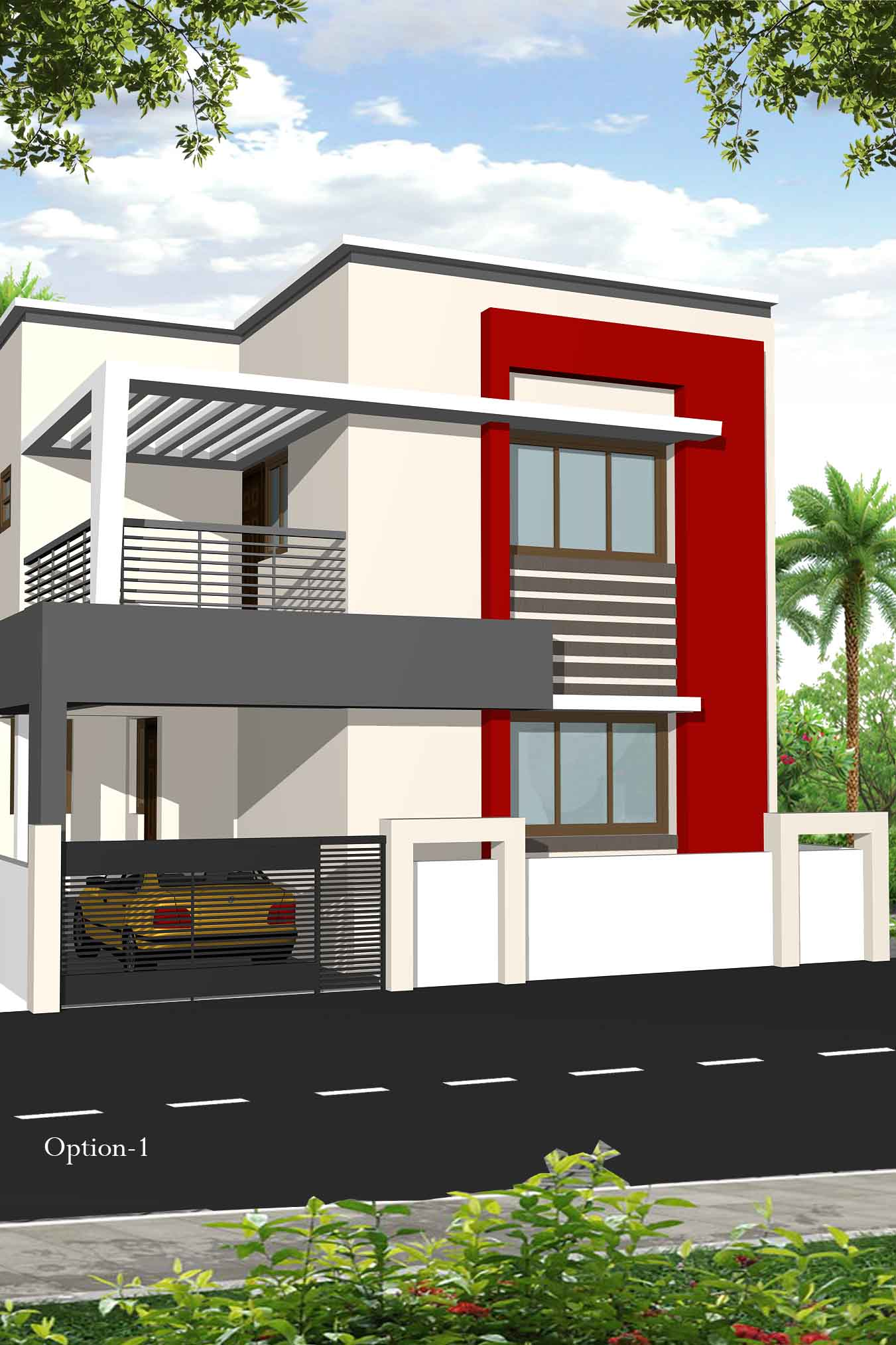 Individual model house