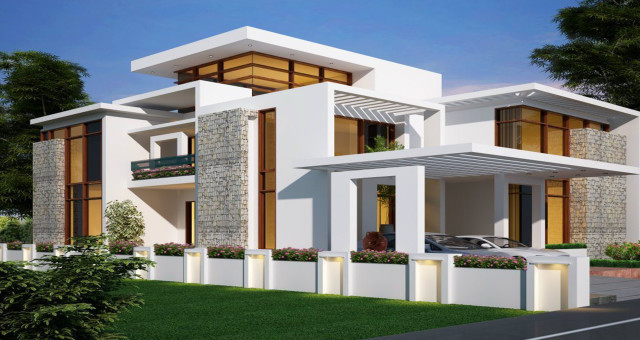 Beautiful Elevation in Brindavan Homes @ Kochadai, Madurai, Tamilnadu