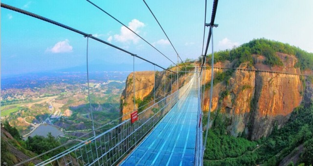 Glass Bridge – World Longest Glass Bridge in China