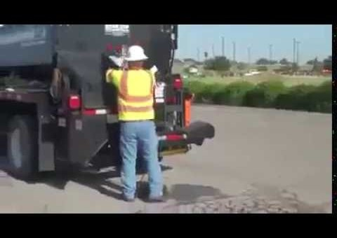 This truck can fix road potholes in an hour!