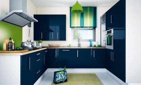 Modular Kitchen Design Flat Promoters Builders Apartment